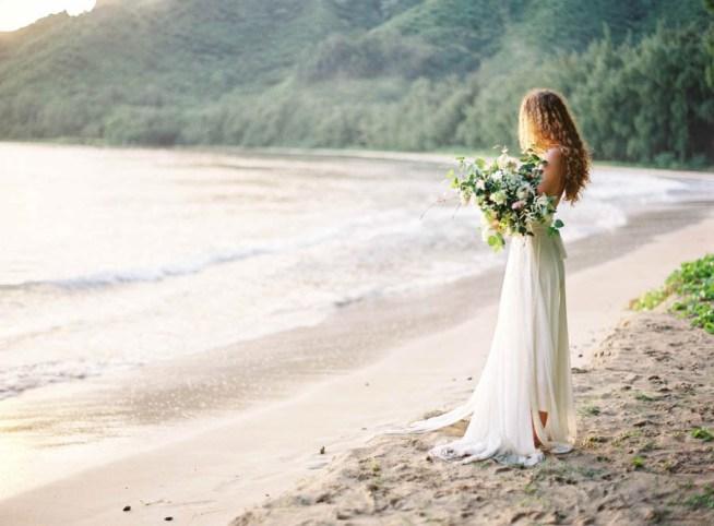 strandbröllop på Hawaii