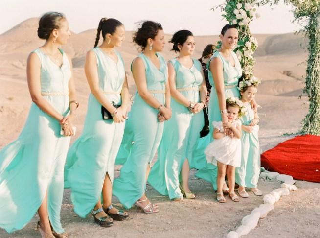 bröllop i Marockanska öknen