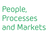 We develop People, Processes and Markets
