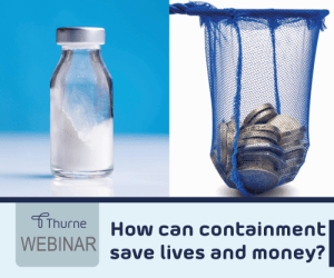 How can containment save lives and money?