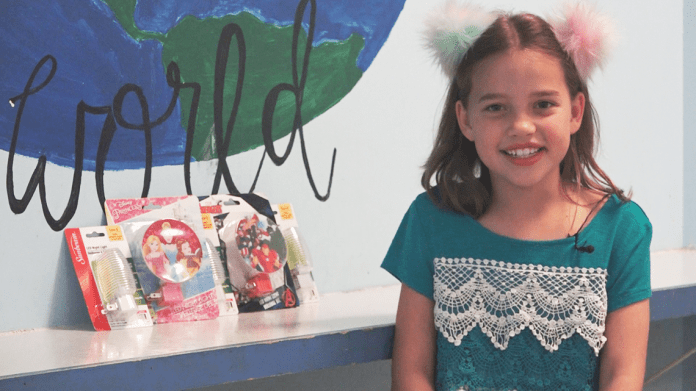 7-year-old Bryant girl collects nightlights for foster kids to feel more at home