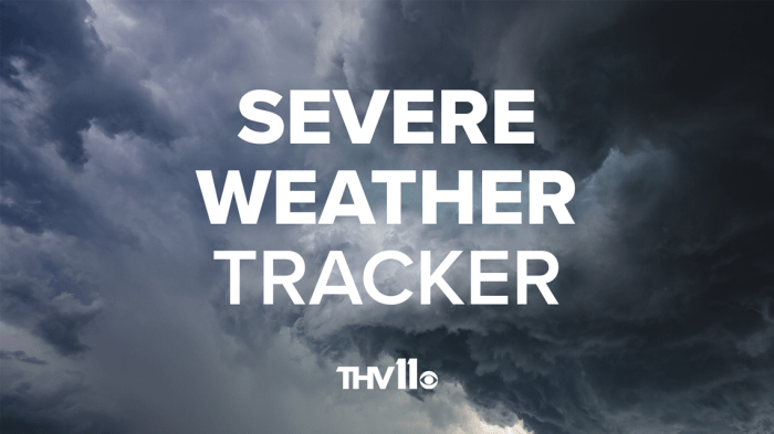 Severe weather updates and information for central Arkansas