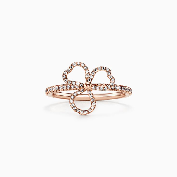 玫瑰金 女士的戒指:印章及疊戴戒指  Tiffany & Co.