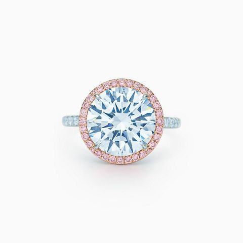 Blue Diamond Ring Tiffany Ringscladdagh