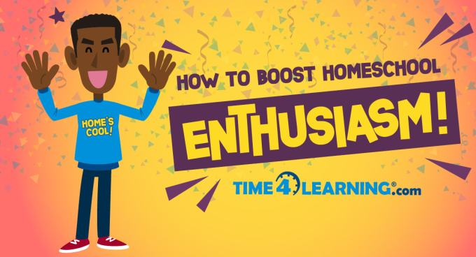 How to Boost Your Homeschool Enthusiasm | Time4Learning