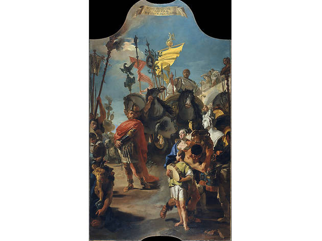 Top 20 Old Master paintings at the Met Giovanni Battista Tiepolo  The Triumph of Marius  1729