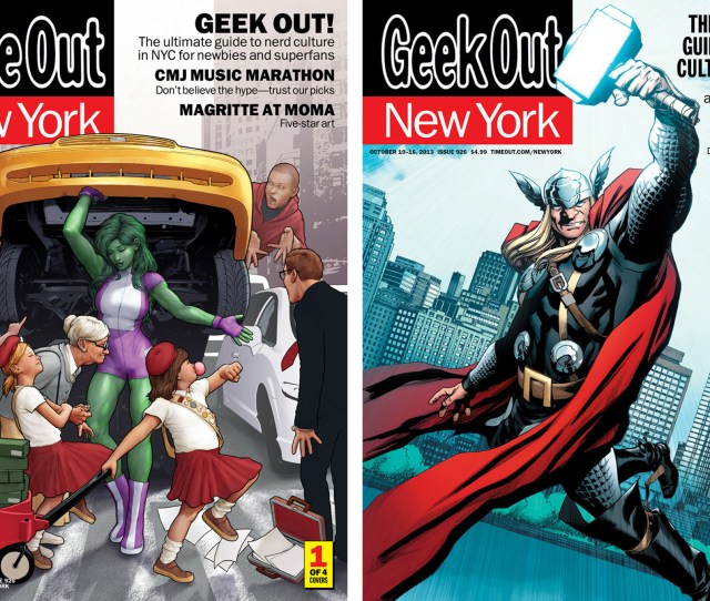 New York Comic Con Covers About The Illustrators