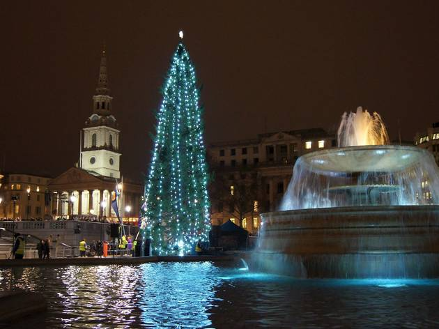 Christmas In Trafalgar Square Things To Do In London