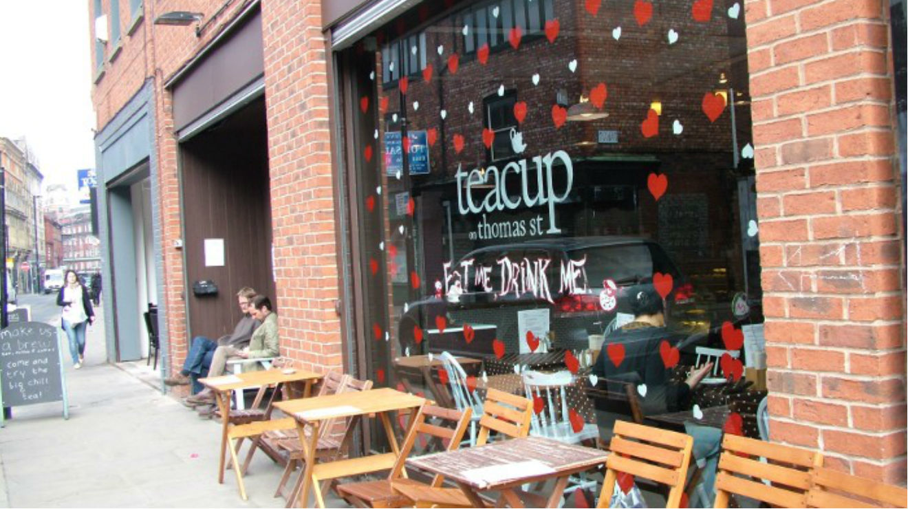 Teacup Kitchen Restaurants In Northern Quarter Manchester