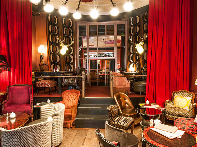 Sketch Parlour Restaurants In Mayfair, London - Seating Area