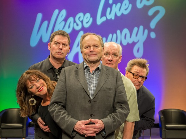 Clive Anderson on 'Whose Line Is It Anyway?' hecklers ...