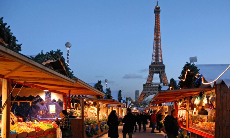 Image result for christmas markets paris