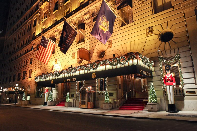 best christmas hotels for spending the holidays in nyc - Best Christmas Decorations In Nyc