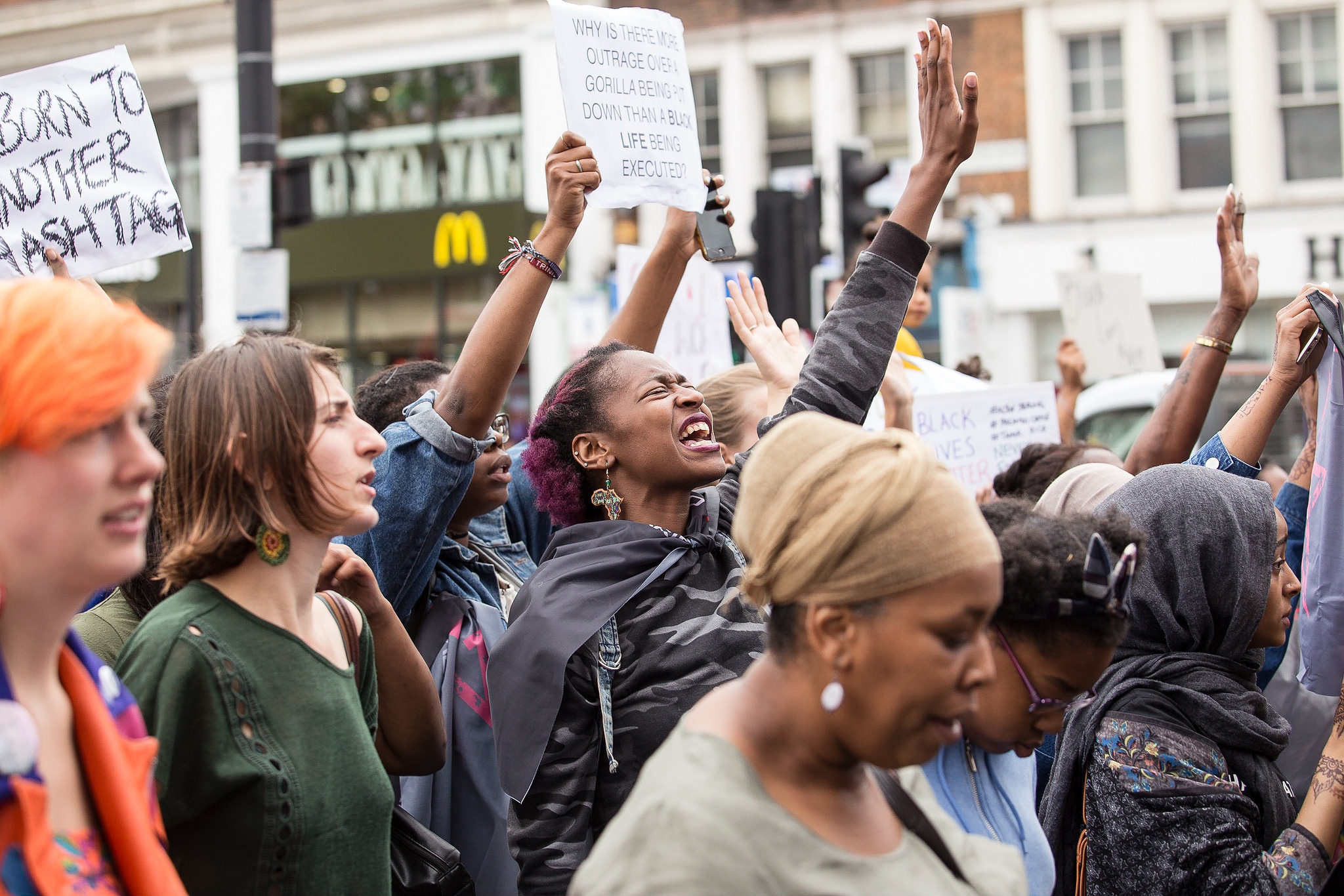 Protest Events In London