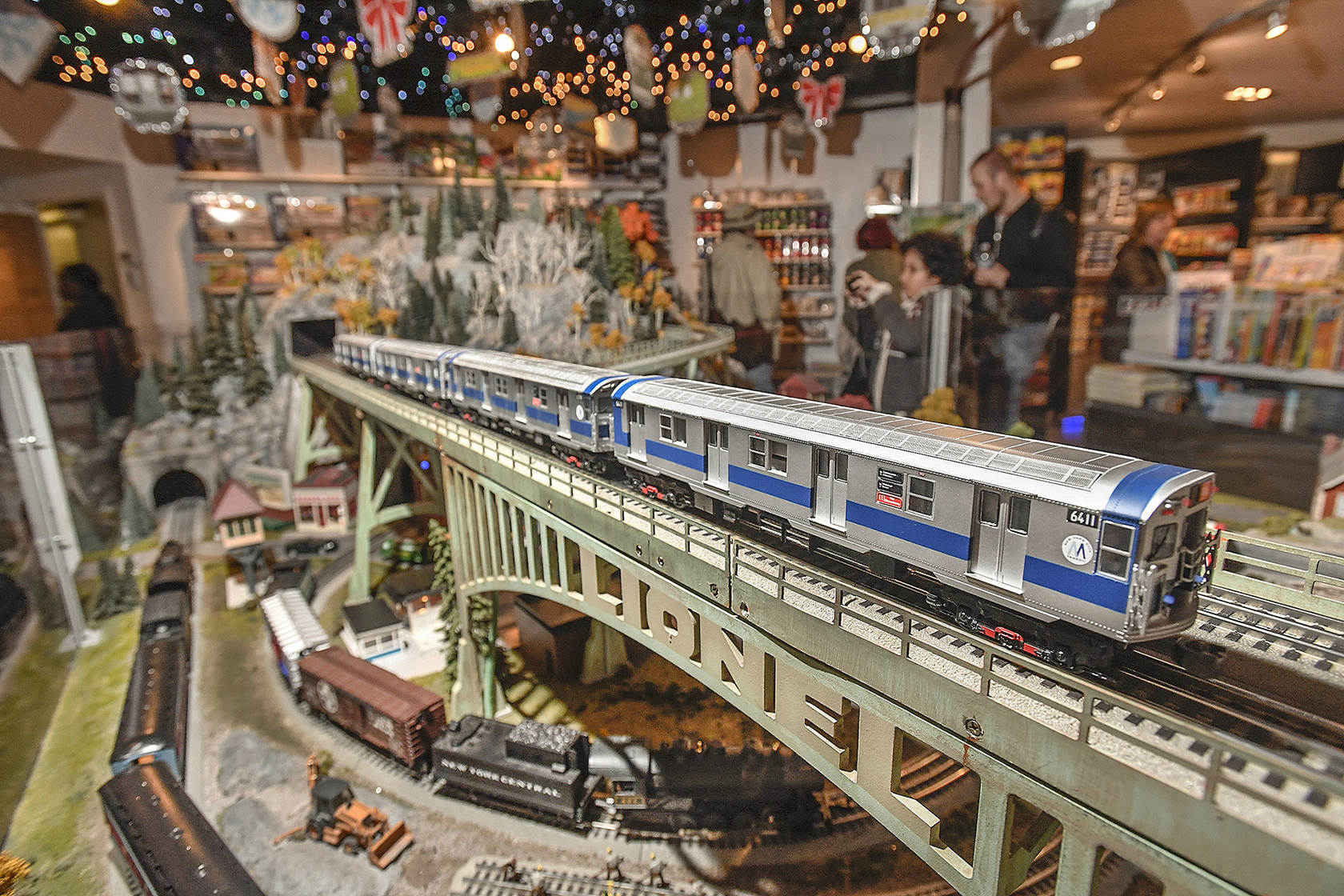 Holiday Train Show At Grand Central Terminal