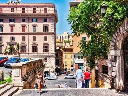 蒙蒂,羅馬