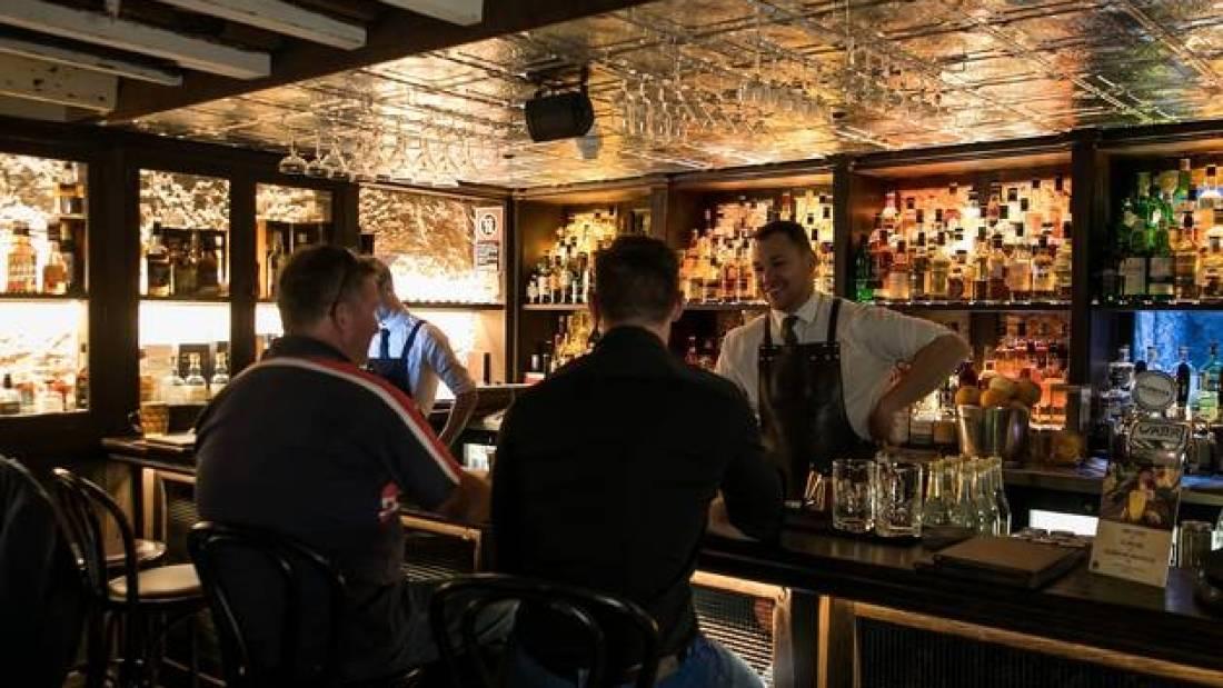 The Doss House Premium Whisky Bar The Rocks