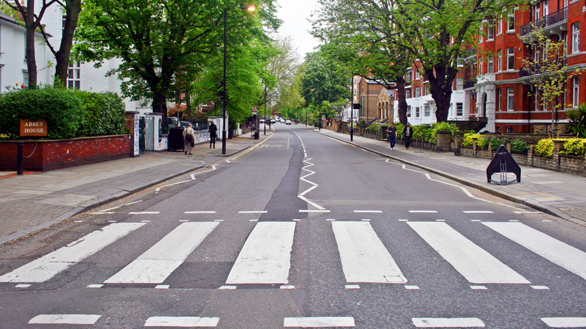 London Is So Empty That They Ve Repainted The Abbey Road