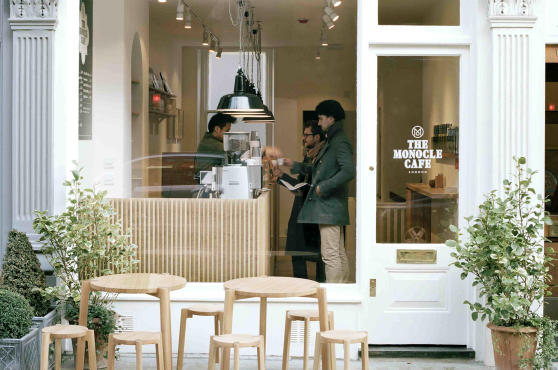 Monocle Cafe, Marylebone