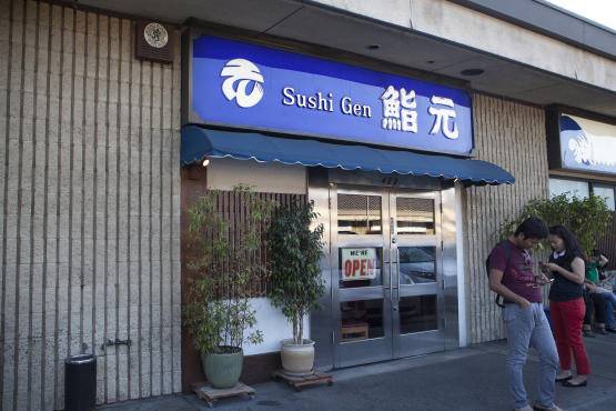 Sushi Places Los Angeles