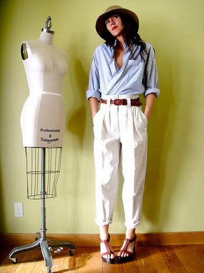 Bí quyết mặc đẹp cho nàng lưng dài, chân ngắn 6