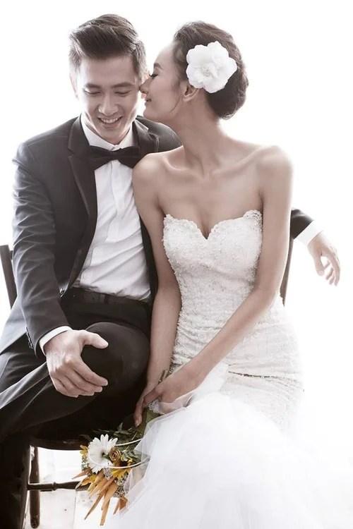 Hình ảnh So kè những chiếc nhẫn cưới có trị giá khủng của cặp đôi sao Việt số 11
