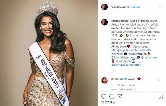 Hoa hậu Hoàn vũ 2019 bất ngờ 'nhường ngôi' cho Á hậu 1 dù đăng quang chưa lâu 2