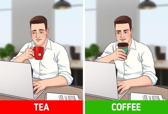 Nên uống trà hay cà phê vào buổi sáng? 3