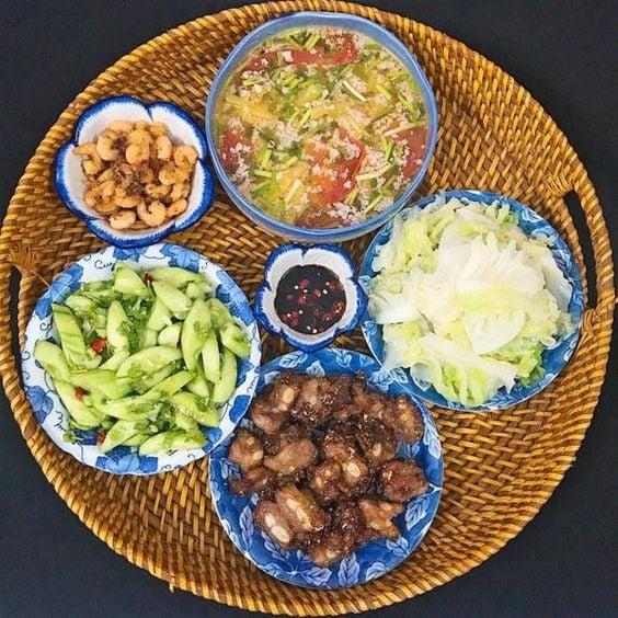 Tổng hợp những mâm cơm mùa hè ăn vào là mát ruột 8