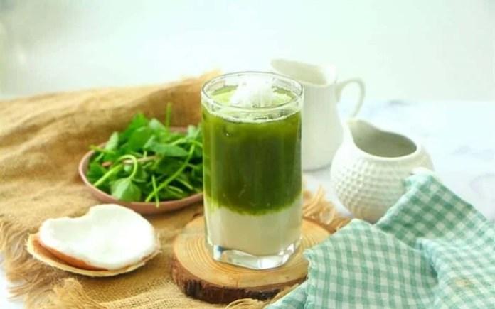 Cách làm nước đậu xanh rau má thanh mát uống cực đã trong ngày hè 1