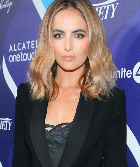 Camilla Belle Debuts Super Blonde Locks See Her New