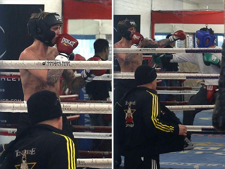 Image result for justin bieber boxing