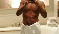 Guess The Stripped Down Star in the Sexy Towel Selfie!