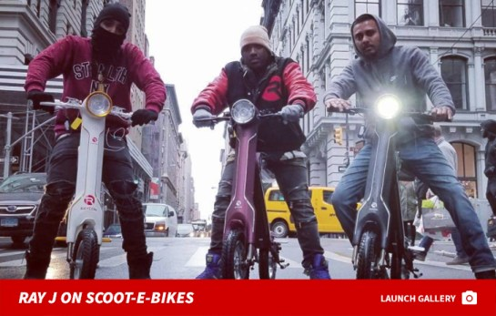 Image result for Ray J's Manager Slams Lawsuit Over Scooter Business