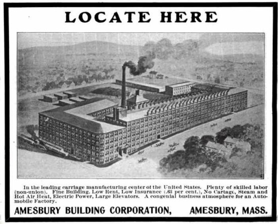 Amesbury, Carriage Town, industry, Toby Elwin