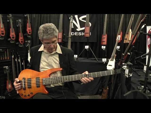 Ned Steinberger, NS Design,double bass, radius cello, violin, viola, YouTube, omni bass,