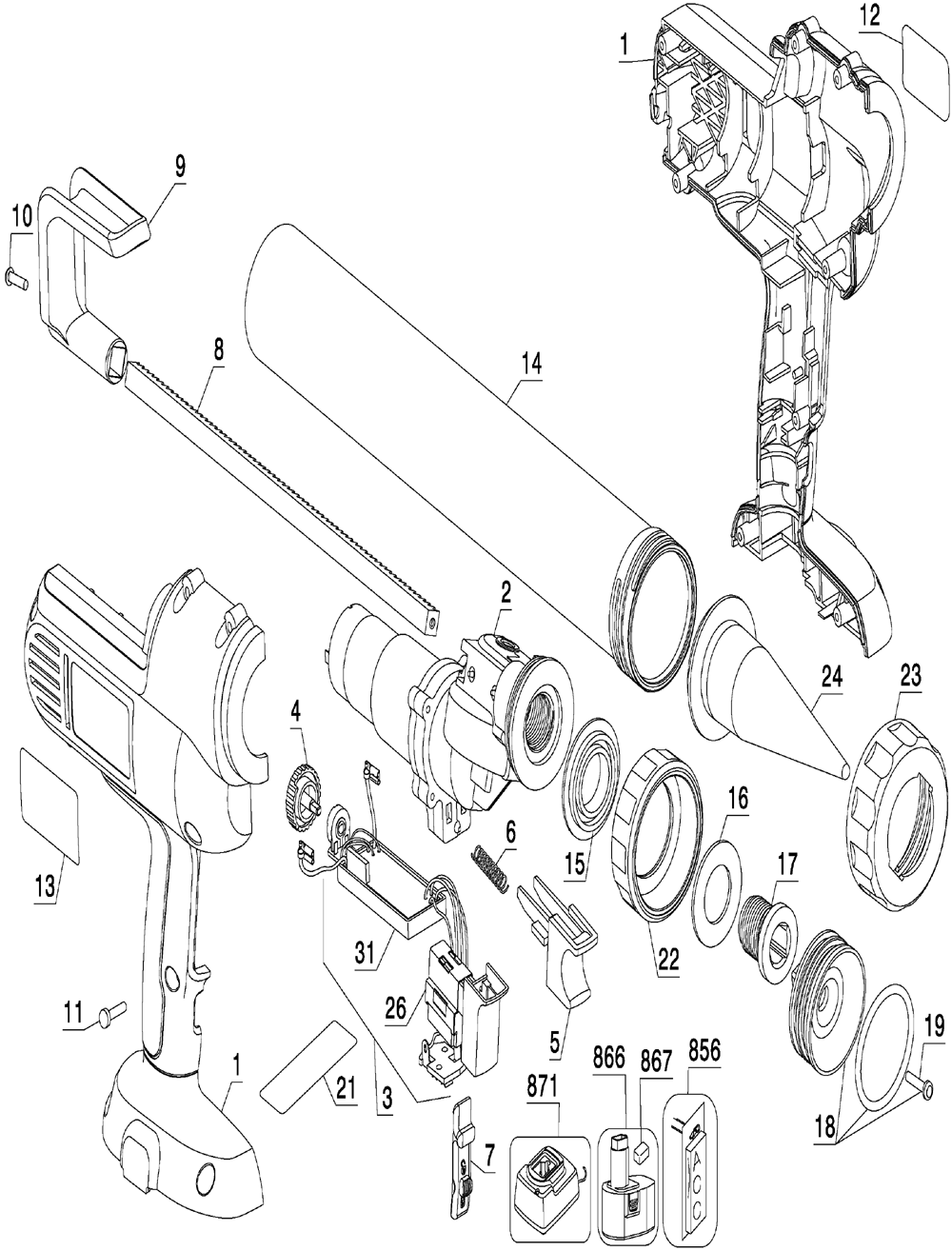 Lincoln grease gun 1880 parts wiring diagrams lincoln auto lube wiring diagram at nhrt