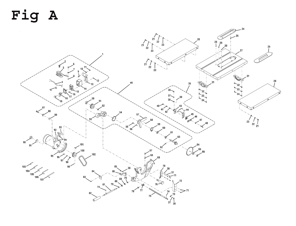Ridgid R4512 Table Saw Manual