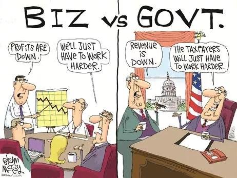 Biz vs. Govt