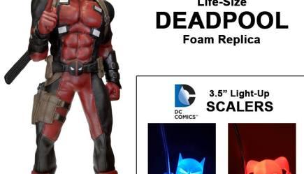 NECA Toys Lists Life Size Batman, Xenomorph Egg