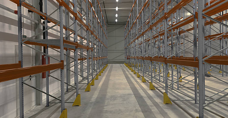 racking solutions warehouse toyota