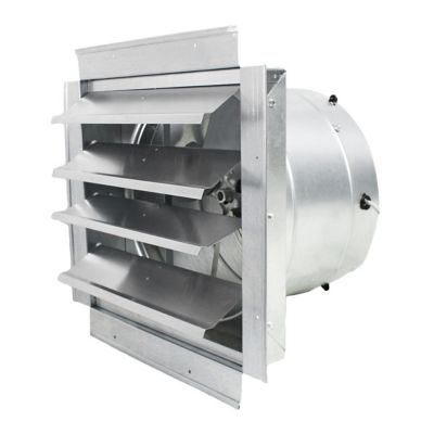 maxxair heavy duty exhaust fan with integrated shutter 14 in blade if14