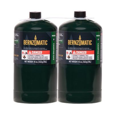 bernzomatic propane camping cylinder pack of 2