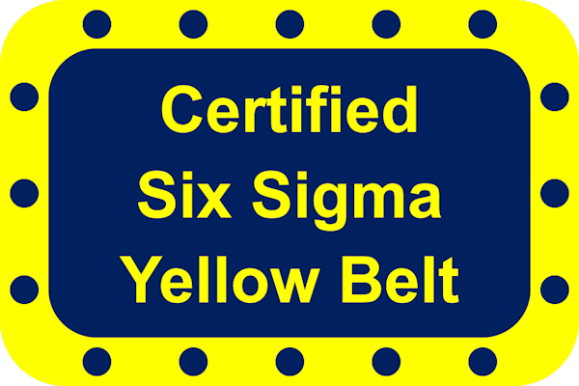 certified six sigma yellow belt course options