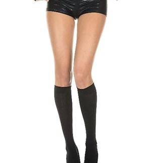 Opaque Knee High Nylon Stockings