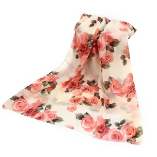 The Lovely Rose Scarf