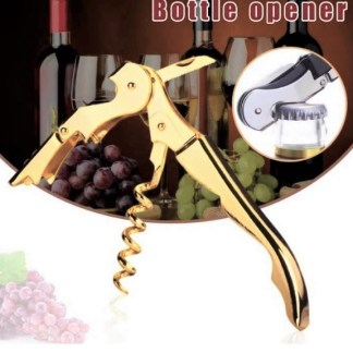 Gold Plated Wine Opener