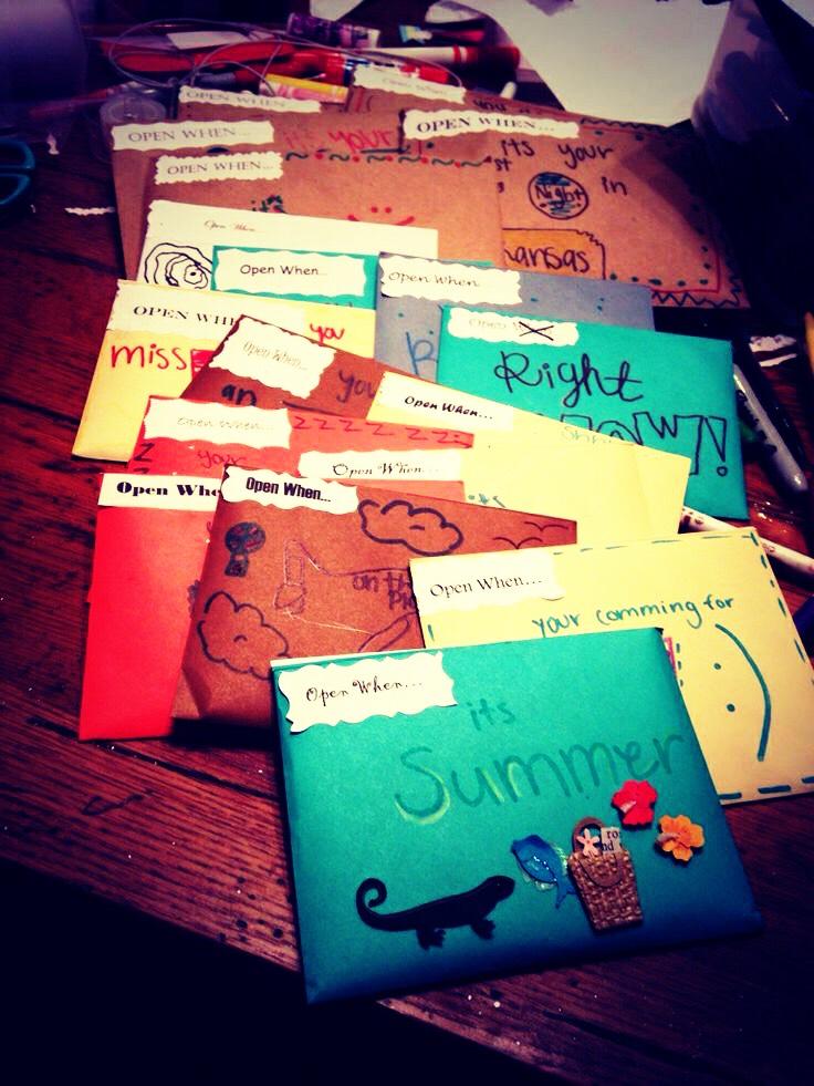 Bestfriend Gift Open When Letters Trusper