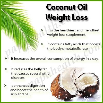 Lose Lots Of Weight And Other Benefits Of Coconut Oil ...