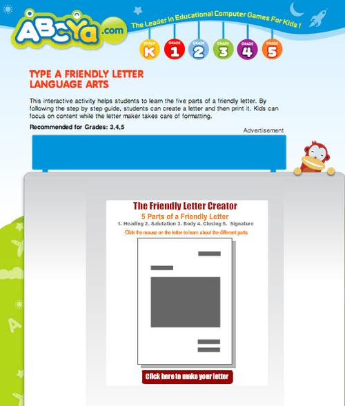 2nd Grade Digital Friendly Letters To Teachers David Lee Edtech